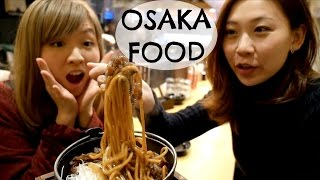 Osaka Food Guide In Dotonbori 2: Kushikatsu And Yakisoba Restaurants | Japan Food Travel Guide