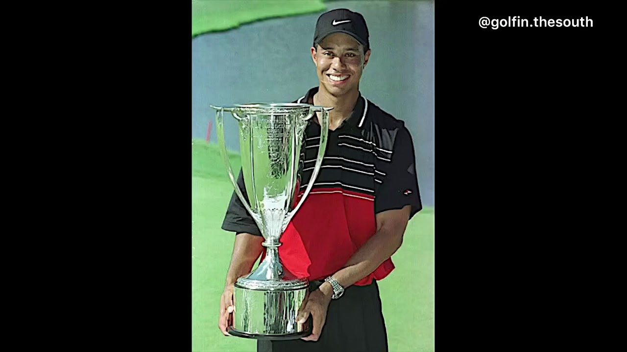All of Tiger Woods 82 wins in 82 seconds - YouTube