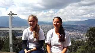 Volunteer Abroad Guatemala Quetzaltenango Meredith Clote and Lauren Newcomb