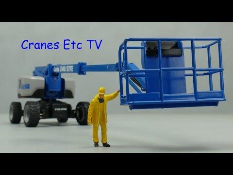 NZG Genie Z-60/37FE Boom Lift by Cranes Etc TV
