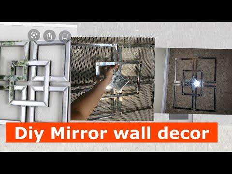 DIY Mirror Wall Art