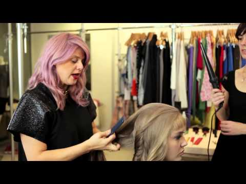 Hair How To with Renya Xydis for Duvenage Mercedes Benz Fashion Week