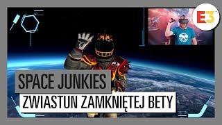 SPACE JUNKIES ZWIASTUN ZAMKNIĘTEJ BETY