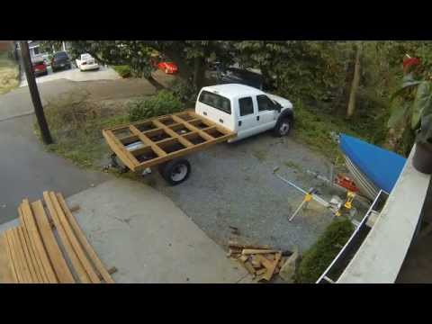 Wood Truck Bed Ford F 450 Youtube