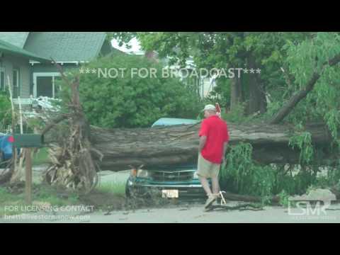 6-12-17 Extensive Tornado Damge Bayard Nebraska