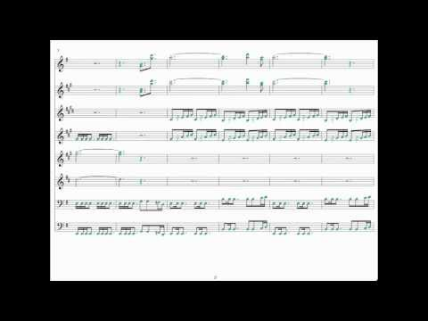 Doctor Who Theme - Sheet Music for Band