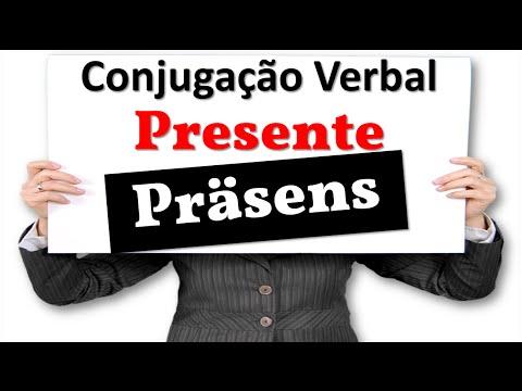 Conjugação Do Verbo No Tempo Presente (Konjugation Des Verbs Im Präsens)