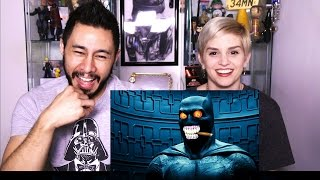 Batman V Superman WEIRD TRAILER reaction by Jaby & Elizabeth!