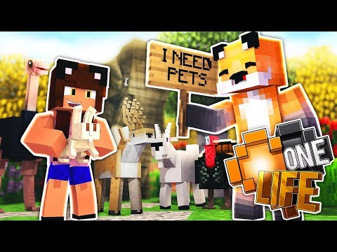 The Crazy Pet Lady W/Yammy - Minecraft One Life S3 EP 37