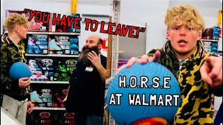 Game of P.I.G. at Walmart *KICKED OUT*