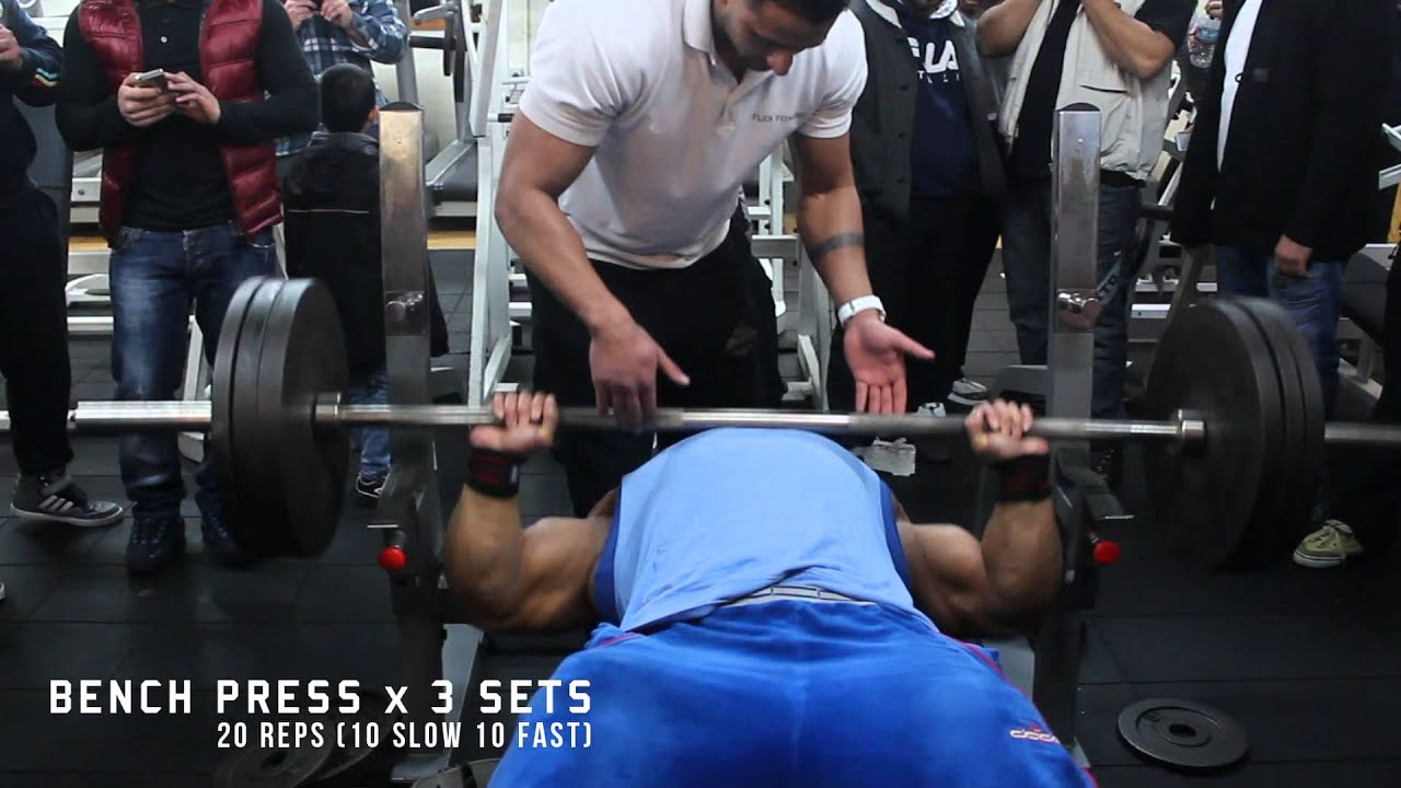 Flex Fitness - Zack Khan Visit - YouTube