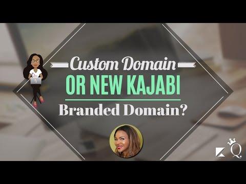Custom Domain or New Kajabi Branded Domain?