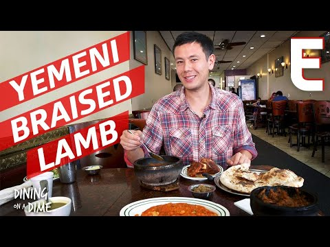 Lucas Peterson Discovers His Favorite Dessert and Other Delicious Yemeni Dishes — Dining on a Dime