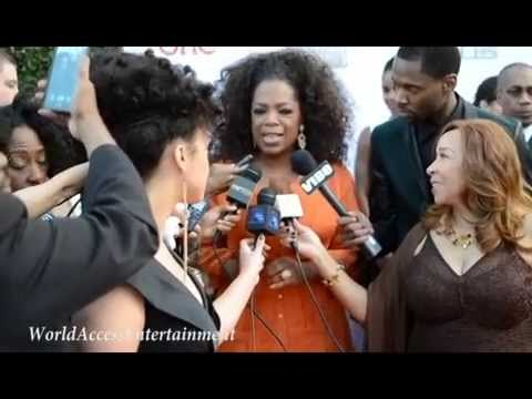 Oprah Winfrey at the 45th Image Awards