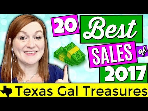 20 Best Items to Sell of 2017 - Buy These in 2018...BOLO 2018