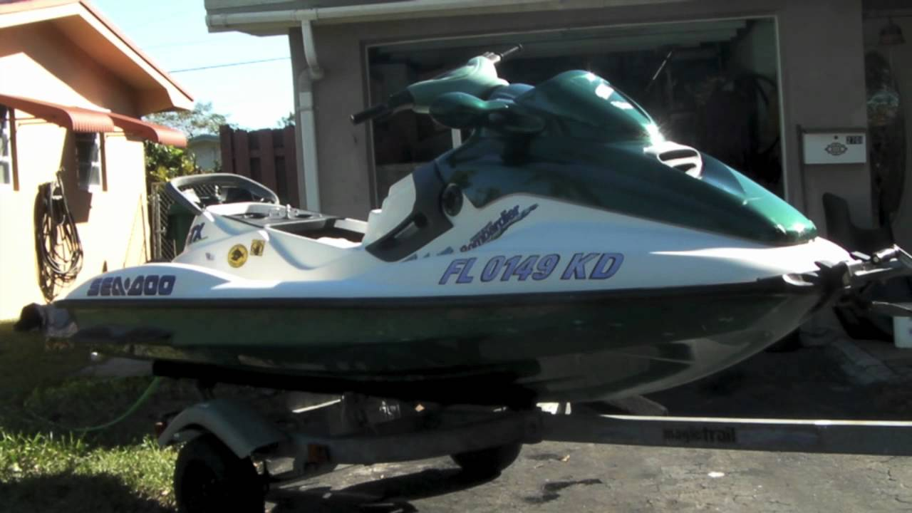 1996 Seadoo Gsx Limited 96 Sea Doo Gtx Wiring Diagram Youtube 1280x720