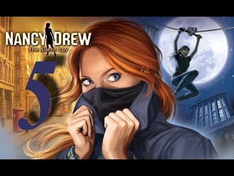 Нэнси Дрю. Безмолвный шпион. Прохождение игры. Часть 1,2