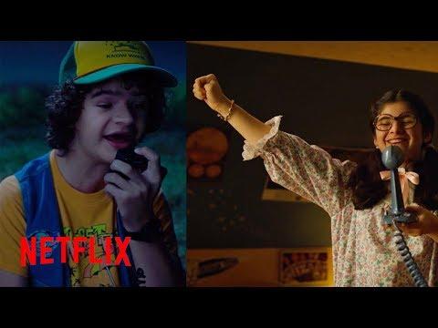The Full Dustin and Suzie NeverEnding Story Scene   Stranger Things S3