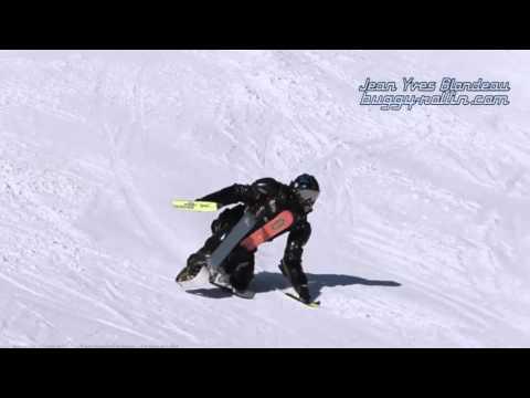 BUGGY SKI in LECH Austria Jean Yves Blondeau D. Strasser
