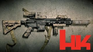 HK416 and HK MR556 Comparison - From TAC-TV