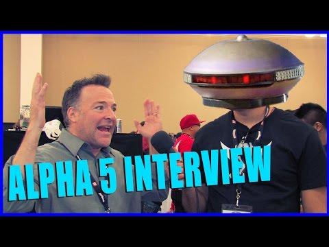 Richard Horvitz (Alpha 5) POWER RANGERS Interview - Power Morphicon 2014