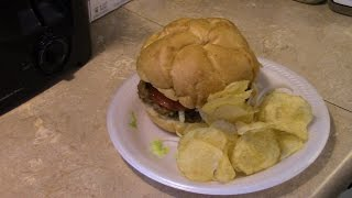 Smokey Meatloaf Burgers In The T-fal Optigrill
