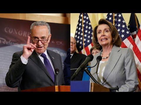 WATCH LIVE: Schumer, Pelosi hold news briefing regarding GOP tax plan