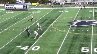 James Okike takes long ball to the house for Wesley