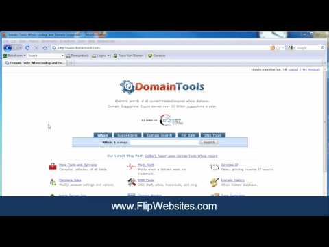 How To Do A Whois Lookup for Website Flipping