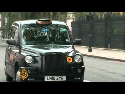 Britain's iconic black cabs in jeopardy