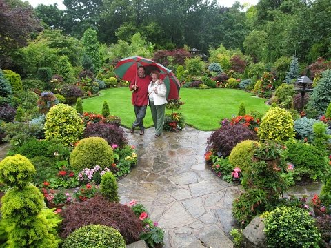 England four seasons garden wonder of walsall youtube for Gardening 4 all seasons