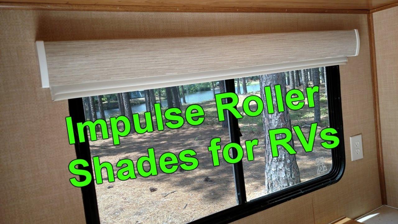 Impulse Roller Shades For Rvs