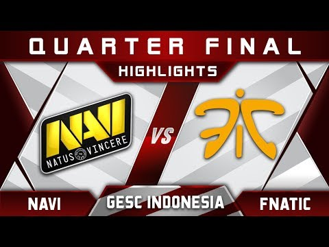 NaVi vs Fnatic [EPIC] GESC Indonesia 2018 Minor Highlights Dota 2