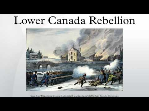 Lower Canada Rebellion
