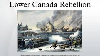 Lower Canada Rebellion