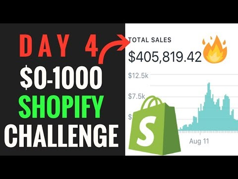 DAY 4 | SHOPIFY CHALLENGE: $100/DAY, FACEBOOK ADS RETARGETING