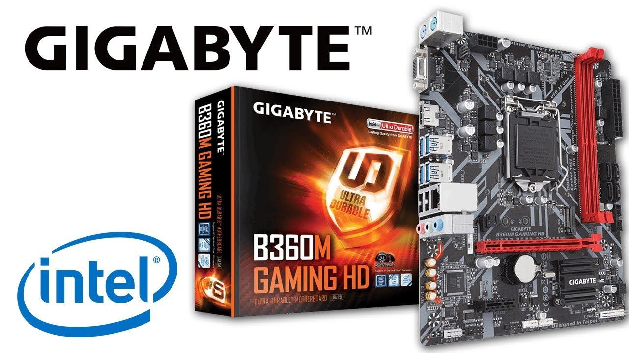 UNBOXING Gigabyte B360M GAMING HD + Colocación i5 9400F y 8Gb RAM en Español!
