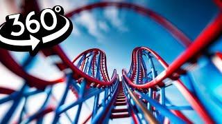 Roller Coaster 360 VR Video 4K