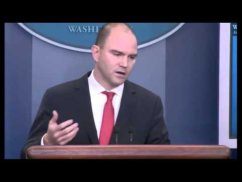Full Event Get Briefed On Obama's Cuba Trip With Deputy National Security Advisor Ben Rhodes