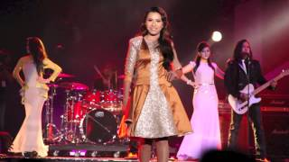 MELISSA FRANCIS, special stage appearance in Project Pistol 'Wanita Seluruh Dunia' ABPBH 2012