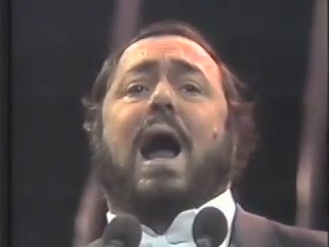 Luciano Pavarotti 1986 Silver Jubilee Concert New York