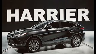 First Look: 2021 Toyota Harrier SUV Officially Revealed !