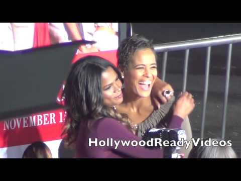 Nia Long arrives at The Best Man Holiday premiere at Grauman's Chinese Theatre in Hollywood