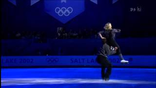 Elena Berezhnaya & Anton Sikharulidze   The Kid   Exhibitions   2002   Olympics