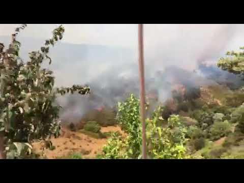Alerta en todo García Aldave con evacuaciones
