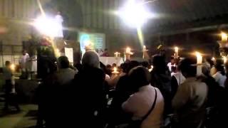 Misa de Resurrección en Los Reyes Acozac, Tecámac, Estado de México. (Semana Santa 2014)