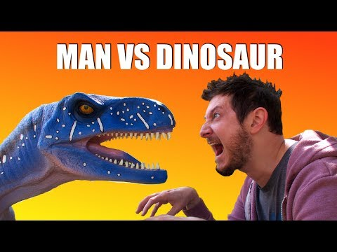 I Bought a REAL DINOSAUR!! ft. Simplynailogical