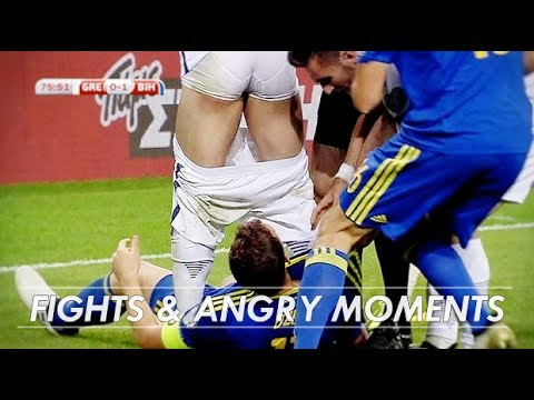 Edin Dzeko - Fights & angry moments | 1080i HD