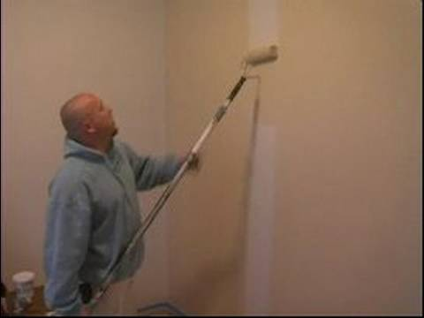 How to Paint Walls : Even Coat When Painting With Roller