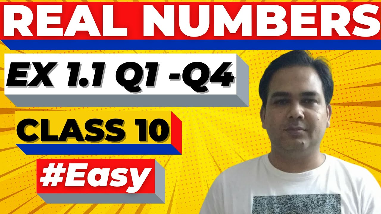 Chapter 1 Class 10 Maths (Exercise 1.1) | Real Numbers - NCERT Solutions #1